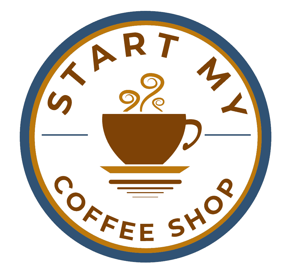 Start My Coffee Shop Logo