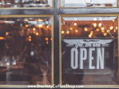 What hours should you operate your coffee shop?