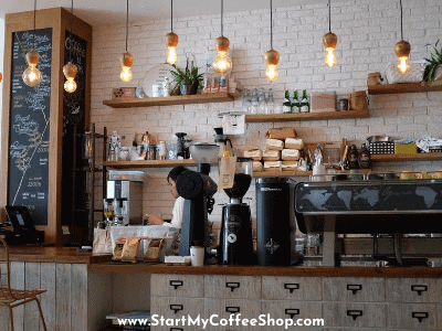 How to buy a coffee stand business.