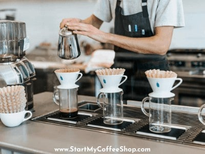 How much does a coffee shop manager make?