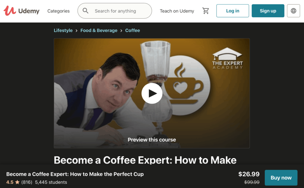 8 Free & Affordable Online Barista Courses